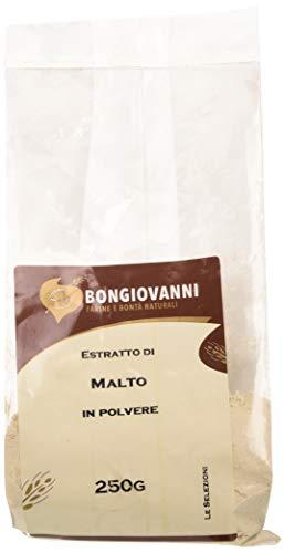 BONGIOVANNI FARINE e BONTA' NATURALI Estratto di Malto In Polvere per Prodotti da Forno - Formato da 250 grammi