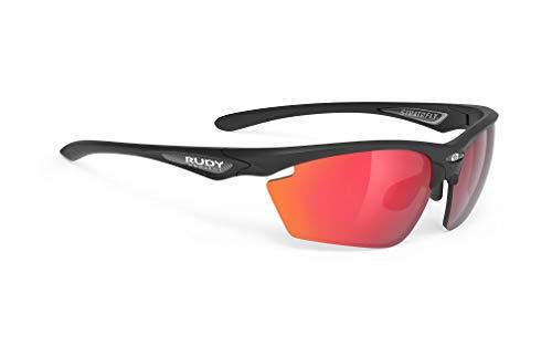 Rudy Project Stratofly Brille Black Matte - rp Optics multilaser red 2021 Fahrradbrille