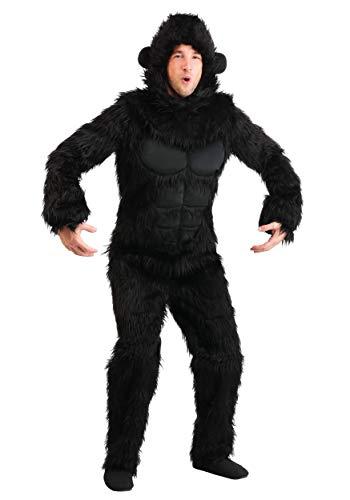 Gorilla Costume Adult - XL Black