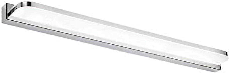 RREN LED Spiegel Scheinwerfer, Wasserdichte Wandleuchte Badezimmer Lichter, Moderne Minimalistische Ankleidezimmer Spiegel Kabinett Lichter (Farbe   Weies Licht, Gre   72CM)