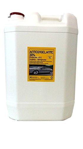 Anticongelante 30% -17ºC. Envase 30 litros. Color verde. Listo al uso. Apto para vehículos y circuitos cerrados refrigeración