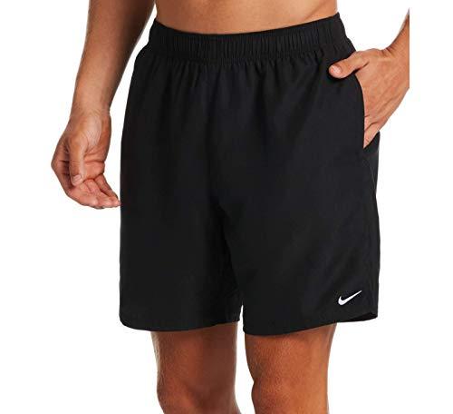 Nike 7 Volley Badeshorts für Herren, Schwarz, M