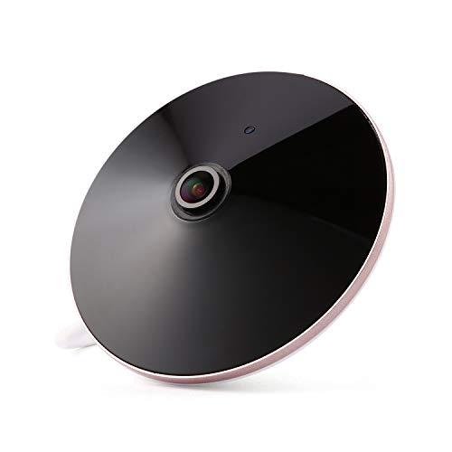 Revotech - PoE 1080P 2.0MP Lente Ojo de pez Audio Interior Panorámicodio IP Cámara 18 LED de Visión Nocturna Fisheye IP Camera Cámara Domo de Vigilancia ONVIF P2P CCTV