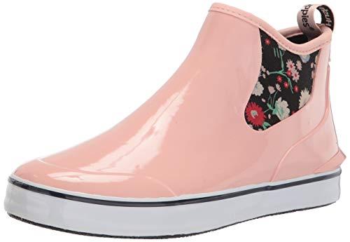 Hush Puppies Women's Rain Sneaker BU Boot, Pale Blush, 6