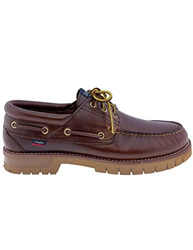 Zapatos para Hombre Fabricados en Piel Náuticos Callaghan 12500 Marrón - Color - Marrón, Talla - 45