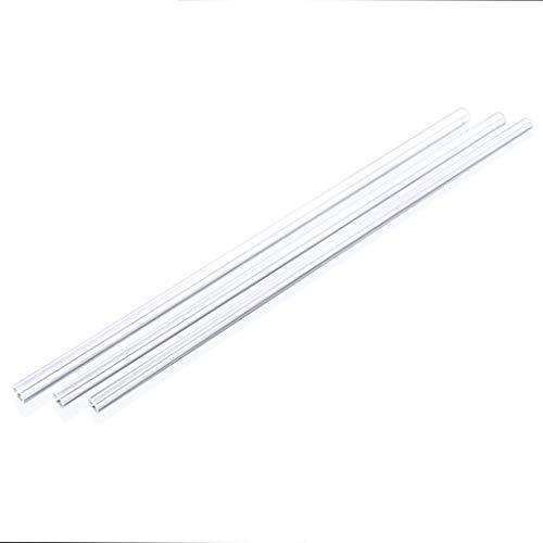 ling 2 Unids 8 × 12 Mm / 10 × 14 Mm / 12 × 16 Mm Tarjeta Dura, Tubo Duro Rígido Transparente/Refrigeración por Tubería (Size : 8X12MM)