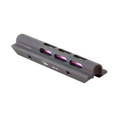 "Trijicon SH01-R Shotgun Fiber Optic Bead Sight, Red.210"" - .280"" Wide Ribs, Black"