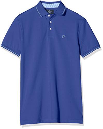 Hackett Tennis Swim Trim Polo, Blu (593royal Blue 593), XX-Large Uomo