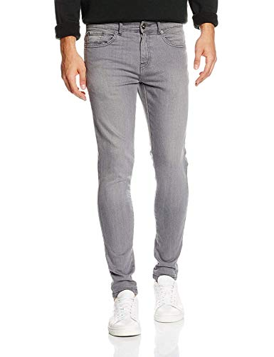 Enzo EZ326, Jeans Skinny Homme Gris (Gris) W34/L30 (Taille fabricant: 34 S)