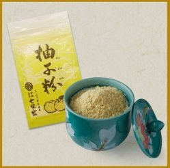 京都限定 七味家本舗 柚子粉
