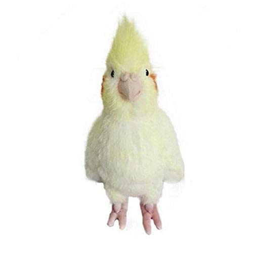 fxwl Kinder Plüschtiere Simulation Nymphensittich Puppe Ausgestopften Vogel Plüsch Spielzeug Tier Puppe Kinder Geschenk
