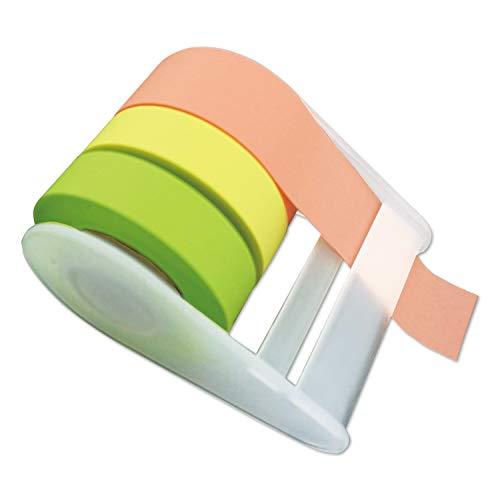 コモライフ メモメモテープ 貼ってはがせる 全面粘着テープ 好きな長さでカット 付箋・マスキングテープ代わりに
