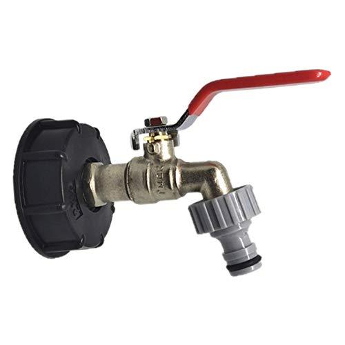 persiverney-AT Adaptador de Drenaje de Grado alimenticio para Tanque totalizador Tanque de Agua totalizador de Herramientas de válvula de Repuesto de Conector 1 Uds Uso para válvula de Like-Minded