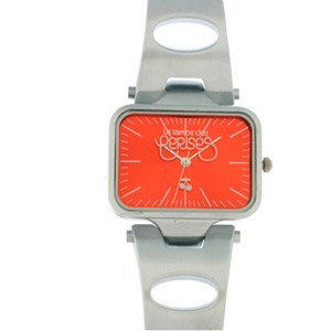 Le temps des cerises–Femme Montre Bracelet Quartz analogique en Acier Inoxydable TC40RDM