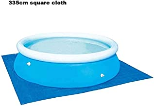 Pool Covers Above Ground Pools Inflatable Swimming Pool Cover Rainproof Dust Cover Family Fun Lounge Cover Round Pool Cover Summer Swimming Pools Size 305CM Round Pipe Rack Pool Cover ZLSANVD