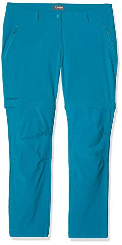 Schöffel Pantalon Ascona Zip Off Femme, Persian Red, FR : XL (Taille Fabricant : 44)