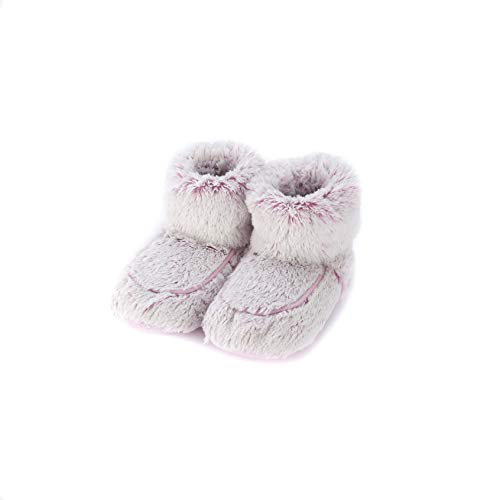 Warmies Slipper Stiefel Pink Marshmallow