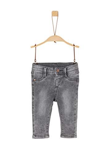 s.Oliver Unisex - Baby Jeans aus Stretchdenim grey 92.REG
