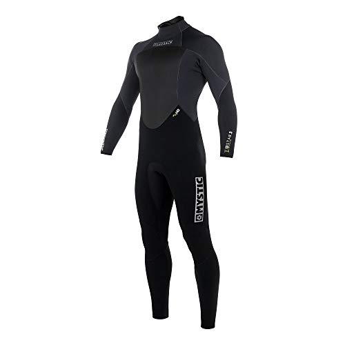 Mystic Star 5 / 4mm Zip-Wetsuit mit Reißverschluss hinten in Schwarz - Herren - Wärme und Haltbarkeit für Windsurfen und Kitesurfen - Leichter Stretch