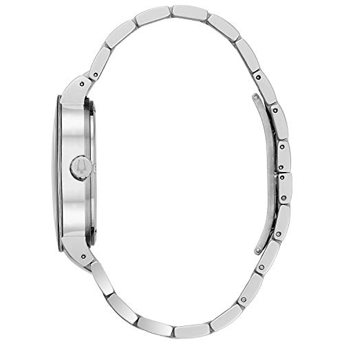 Bulova Hommes 96C105 Black Watch Bracelet Cadran