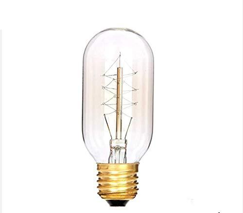 LED-lampen voor decoraties, 2 stuks, retro Edison-gloeilamp, 110 V, 220 V, 40 W, E27, antieke fitting, gloeilamp, vintage lamp, voor de verlichting in huis, -B220 V