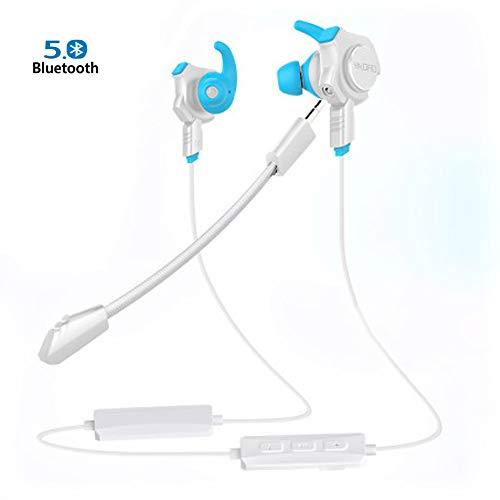 Lorjoyx Ear-Hook Ear Sport Cavo Headset Controllo Filo Sports Headset,Wire Appeso Traspirante Spugna Auricolari
