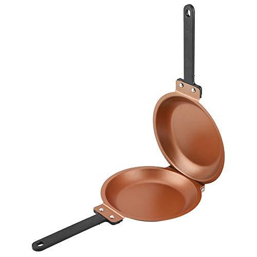 Koekenpan, Dubbelzijdige Non-Stick Flip Koekenpan Gebakken Eier Pannenkoek Maker Huishoudelijke Keuken Kookgerei