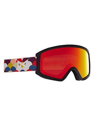 Anon Unisex Jugend Tracker 2.0 Snowboard Brille, Rainbow Black/Red Solex