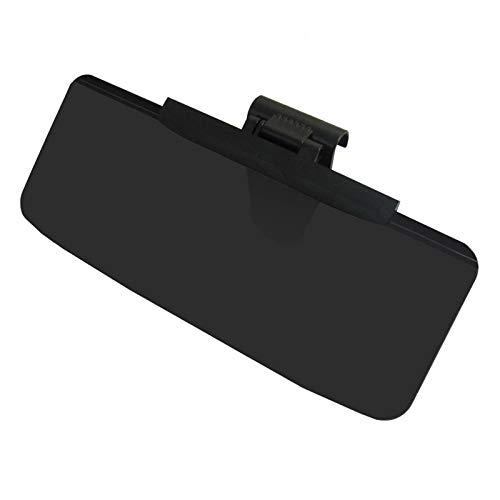 Visera Parasol Coche Parabrisas del coche Parasol del coche Accesorios Gafas auto retráctil lateral Protector Solar Shade Sunvisor del coche Negro