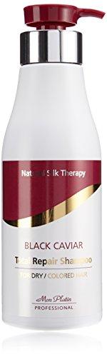 Mon Platin 500ml Natural Silk Therapy Black Caviar Total Repair Shampoo For Dry/ Coloured Hair
