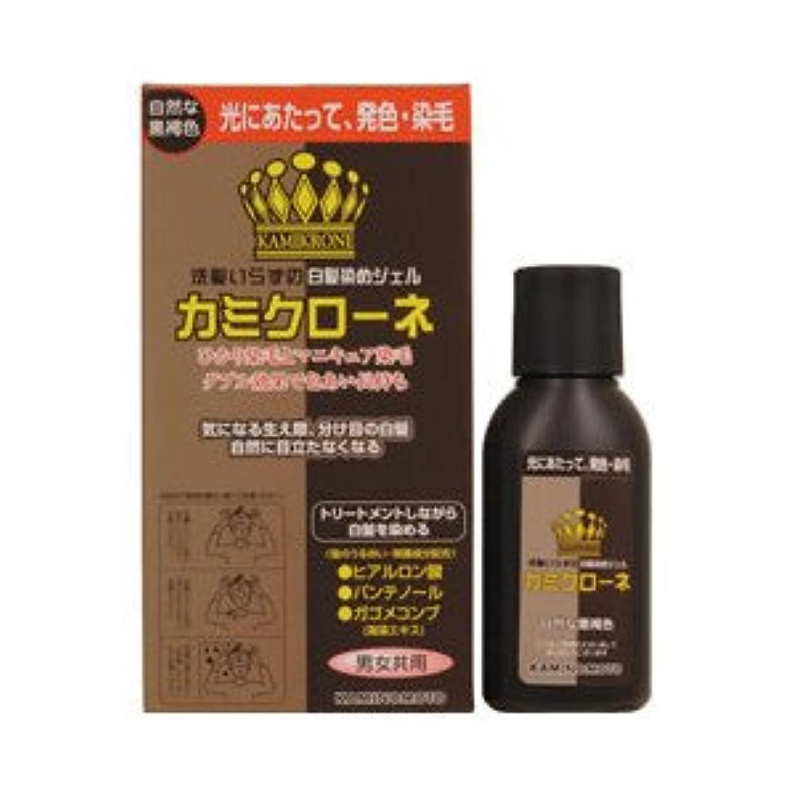 持っているファンド定常【3個】 加美乃素 カミクローネ 自然な黒褐色 80mlx3個 (4987046820020)