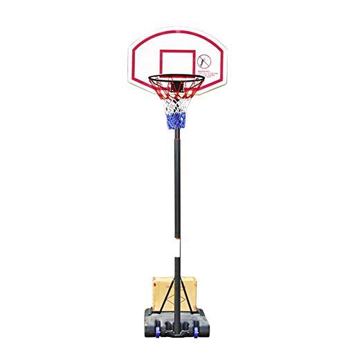 Lamyanran Canasta Baloncesto Pared Infantil Soporte del Sistema de Baloncesto, Baloncesto Cubierta y al Aire Libre, Triángulo Fija, se Puede Subir y Bajar, Movable