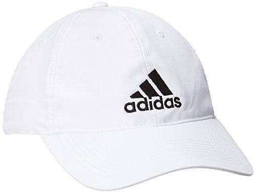 Adidas Performance Logo Casquette Homme, Blanc/Blanc/Noir, FR : (Taille Fabricant : OSFM)