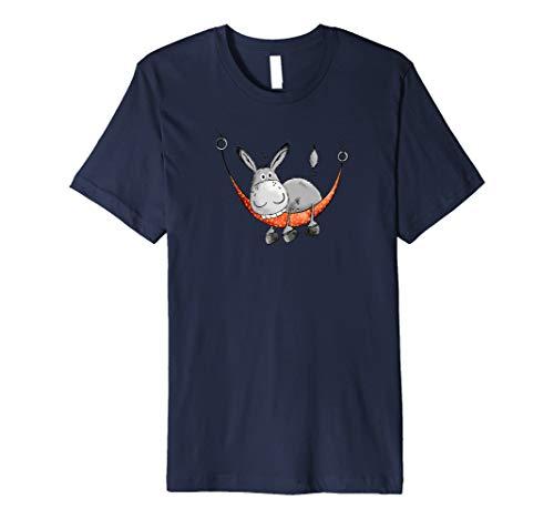 Relax Esel In Hängematte T-Shirt I Urlaub Esel Shirt
