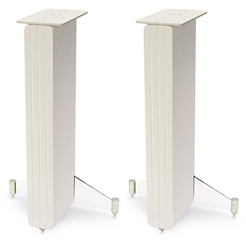 Q Acoustics par Stand para Altavoces Concept 20–Acabado Color Lacado Blanco