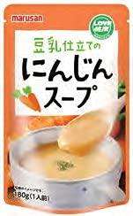 マルサンアイ 豆乳仕立てのにんじんスープ 180g 20パック