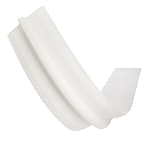 sleepling Puente para cama doble (25 x 200 cm), color blanco