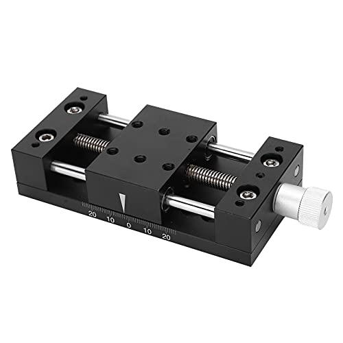 Plataforma de ajuste fino manual de ejes X, plataforma deslizante horizontal plataforma deslizante para equipos ópticos