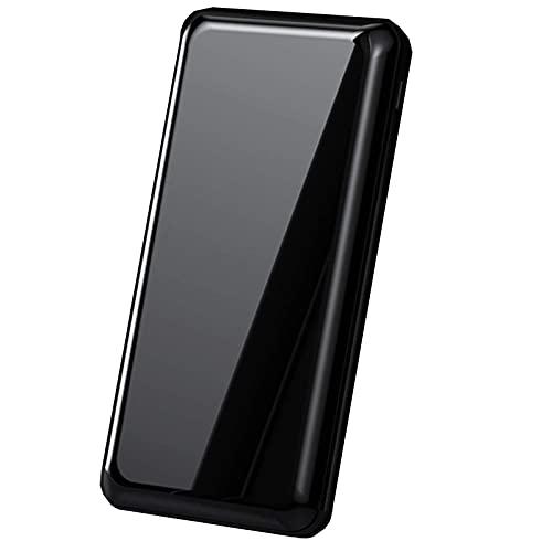 Tcbz 20000Mah Power Bank LED Pantalla Digital Cargador portátil de Alta Capacidad con 2 Puertos Batería de Respaldo de Carga ultrarrápida Compatible con iPhone, Samsung y tabletas, etc, Plateado