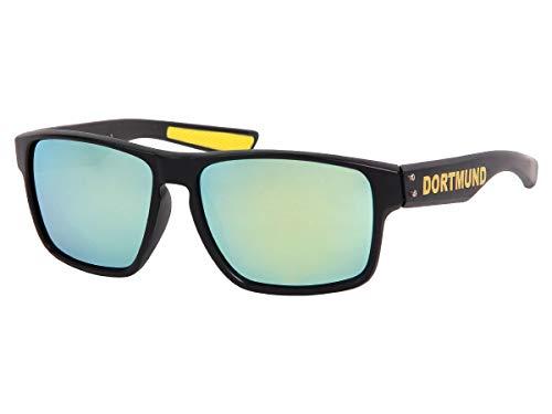 Alsino Viper Dortmund Sonnenbrille Nerd-Brille Retro Vintage Herren Damen V-1440 Uv-400 Schutz, Gläser mit Farbverlauf- hochwertige Kunststoff-Bügel
