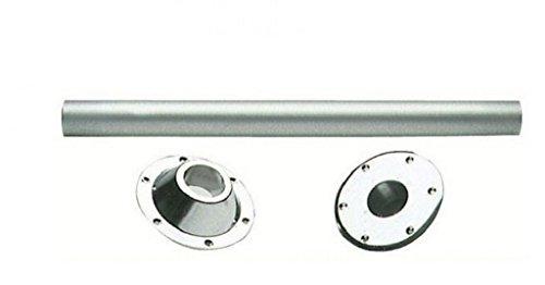 Osculati 48.418.20 Pata de Mesa de Aluminio Anodizado, 700mm x 60mm