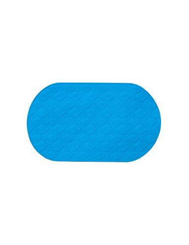Bad anti-slip badmat, kind baby badmat, anti-slip creatieve textuur, onderrug zuignap, voedsel silicium materiaal, blauw, transparante kleur, diverse