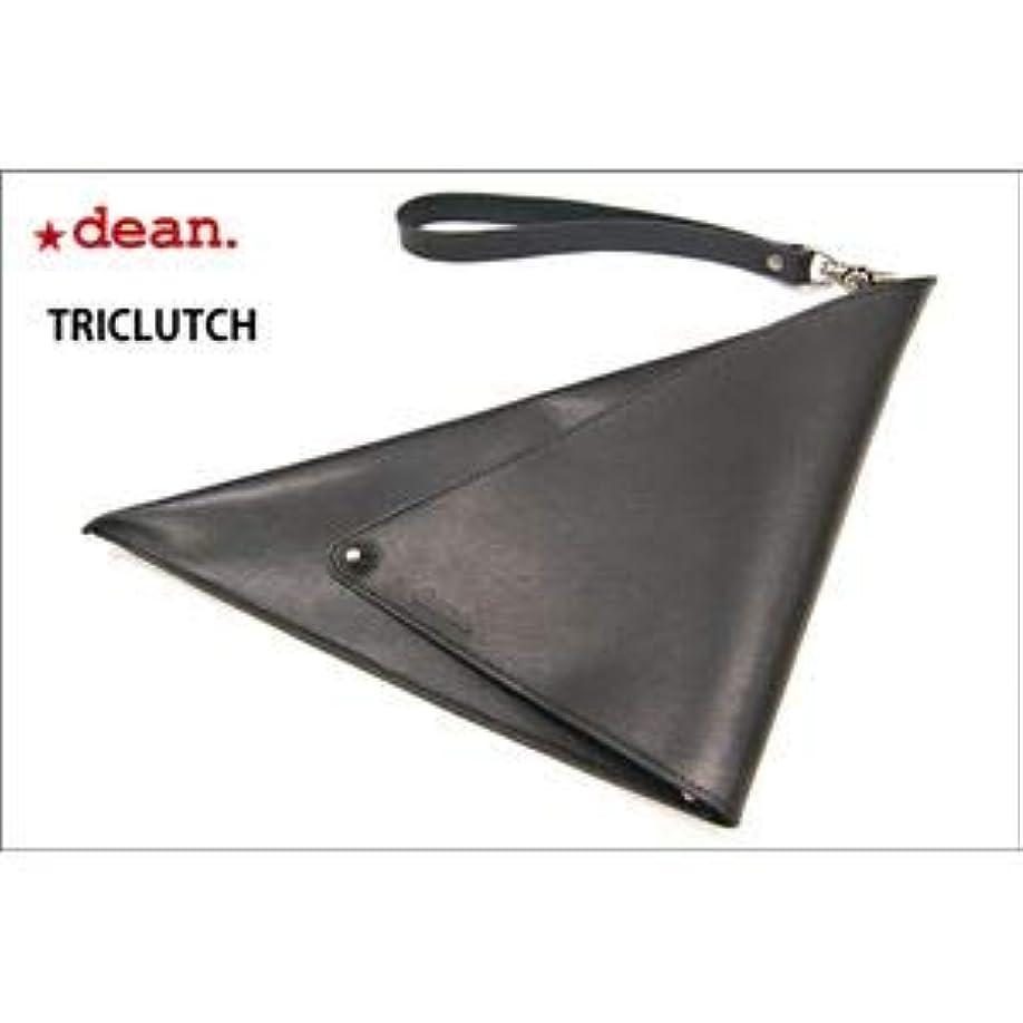 子供っぽい噂郵便局dean(ディーン) triclutch レザーバッグ 黒