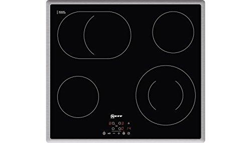 Neff T18B42N2 Elektrokochfeld N50 / 60cm / TouchControl / Bräterzone / Glaskeramik / Edelstahlrahmen