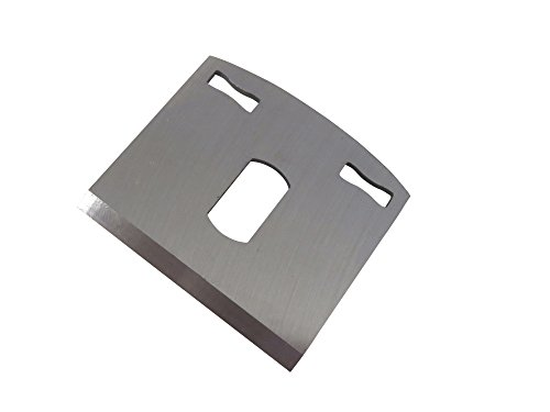 """Taytools 467177 Replacement Blade/Iron for Taytools Flat and Round Bottom Spokeshave, 0.070"""" Thick, 2-1/8"""", Wide, 2"""" Long, RC 55-60"""