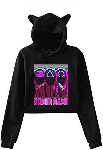 2021 Corea Del Sur Movie Squid Game Round Six Sudadera 218 456 001 067 240 Traje De Cosplay, Disfraz De Halloween Unisex, ChNdal De Ocio De Moda