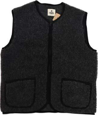 コールドブレーカー COLDBREAKER ベスト メンズ Vest Pepitco ウール 防寒 ボア パーカー フリース レディース もこもこ (Black, M)