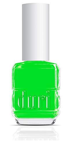 duri Nail Polish 159N Piranha Neon Green Matte Opaque 05 floz