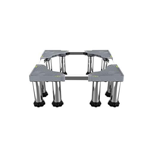 Base De La Lavadora Universal RetráCtil Largo/Ancho 42-66cm Ajustable Soporte para Secadores O Refrigeradores Altura 23-27cm Pedestal y Marco para Neveras AntivibracióN