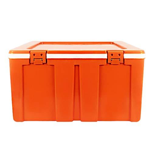 LIYANBWX - Nevera pasiva (60 L, Aislante, refrigerador y Calentador, Desmontable, Ideal para el hogar, Dormitorio, Oficina, Camping, Coche), Naranja, Azul